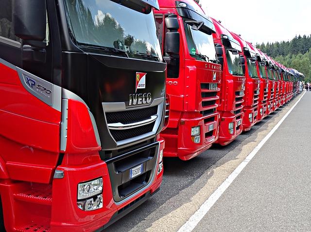 szyby do samochodów ciężarowych